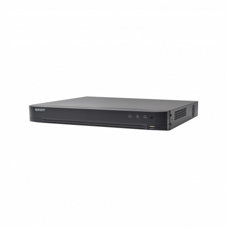 DVR 3 MEGAPIXEL EPCOM / 4 CANALES TURBOHD + 1 CANALES IP