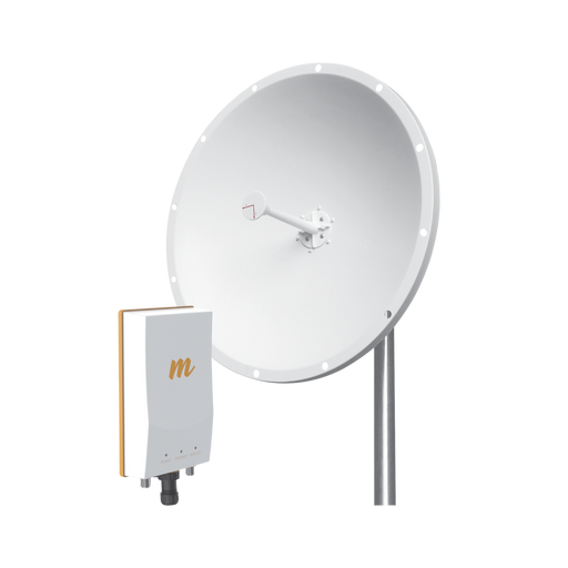 "KIT DE RADIO B5C CON ANTENA DE 28 DBI (""LA ANTENA YA INCLUYE JUMPERS""), RANGO DE FRECUENCIA (4.9 - 6.5) GHZ IDEAL PARA DISTANCIAS DE HASTA 20KM-Enlaces de Backhaul-MIMOSA NETWORKS-B5C-TXP-KIT-Bsai Seguridad & Controles"