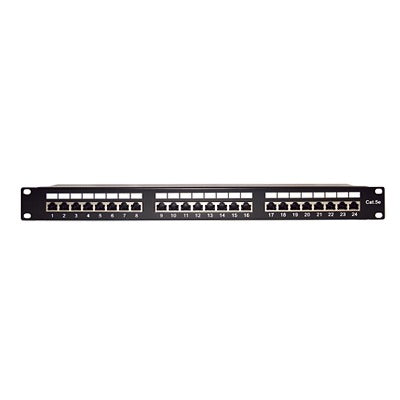 PATCH PANEL BLINDADO (STP) DE 24 PUERTOS CAT5E, 19IN-LINKEDPRO-LP-PP-530-Bsai Seguridad & Controles