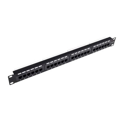PATCH PANEL UTP DE 24 PUERTOS CAT6A, 19IN-LINKEDPRO-LP-PP-605A-Bsai Seguridad & Controles