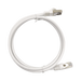 PATCH CORD CAT6A 10G BLINDADO 2M ( 6.25 FT ) BLANCO-Patch Cords-LINKEDPRO-LP-STP-6A-200WH-Bsai Seguridad & Controles
