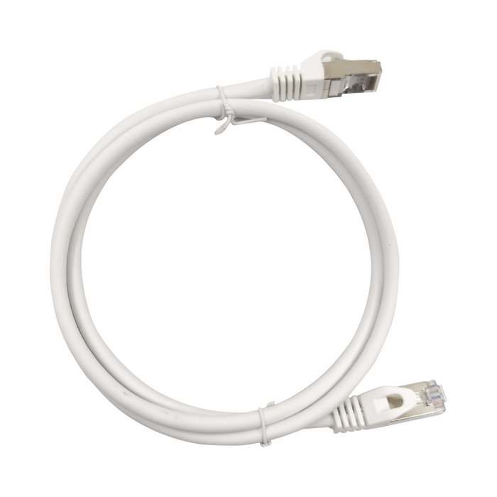 PATCH CORD CAT6A 10G BLINDADO 7.0M ( 22.96 FT ) BLANCO-LINKEDPRO-LP-STP-6A-700WH-Bsai Seguridad & Controles