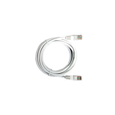 CABLE DE PARCHEO UTP CAT5E - 0.5 M - BLANCO-Patch Cords-LINKEDPRO-LP-UT3-050-WH-Bsai Seguridad & Controles