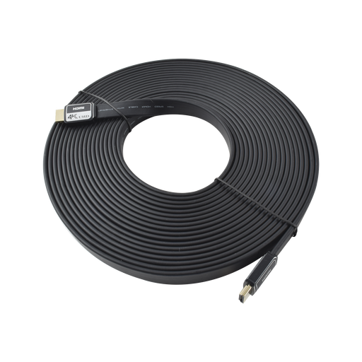 CABLE HDMI PLANO 10 MT (32.80 FT ) V2.0 4KX2K-Cables y Conectores-EPCOM POWERLINE-PHDMI10M-Bsai Seguridad & Controles