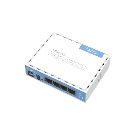 (HAP LITE CLASSIC) 4 PUERTOS FAST ETHERNET Y WI-FI 2.4 GHZ 802.11 B/G/N-Redes WiFi-MIKROTIK-RB941-2ND-Bsai Seguridad & Controles