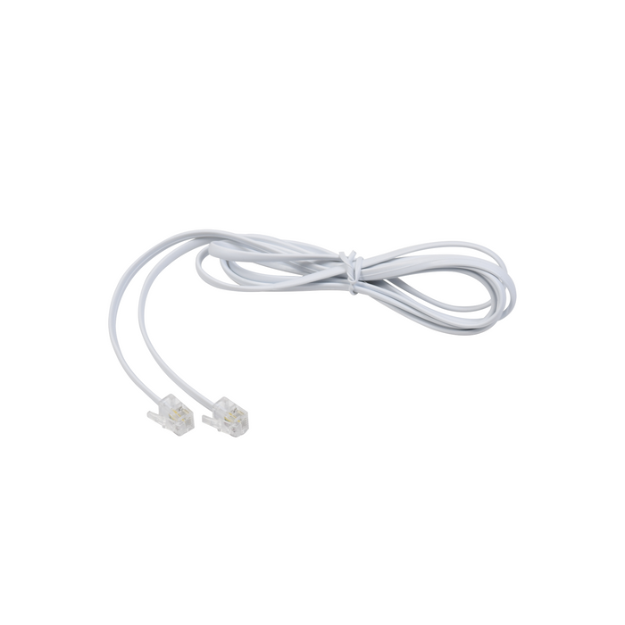 CABLE TELEFÓNICO RJ11, PLANO, COLOR BLANCO, 1.5M-Patch Cords-LINKEDPRO-TELUS80481.5M-Bsai Seguridad & Controles