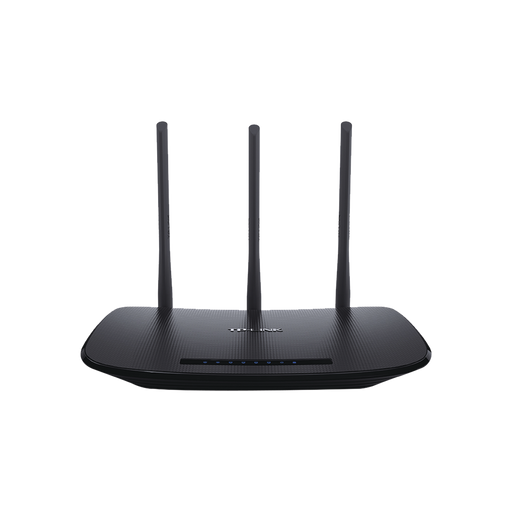 ROUTER INALÁMBRICO 2.4 GHZ, 450 MBPS, 3 ANTENAS EXTERNAS OMNIDIRECCIONAL 5 DBI, 4 PUERTOS LAN 10/100 MBPS, 1 PUERTO WAN 10/100 MBPS-Redes WiFi-TP-LINK-TL-WR940N-Bsai Seguridad & Controles