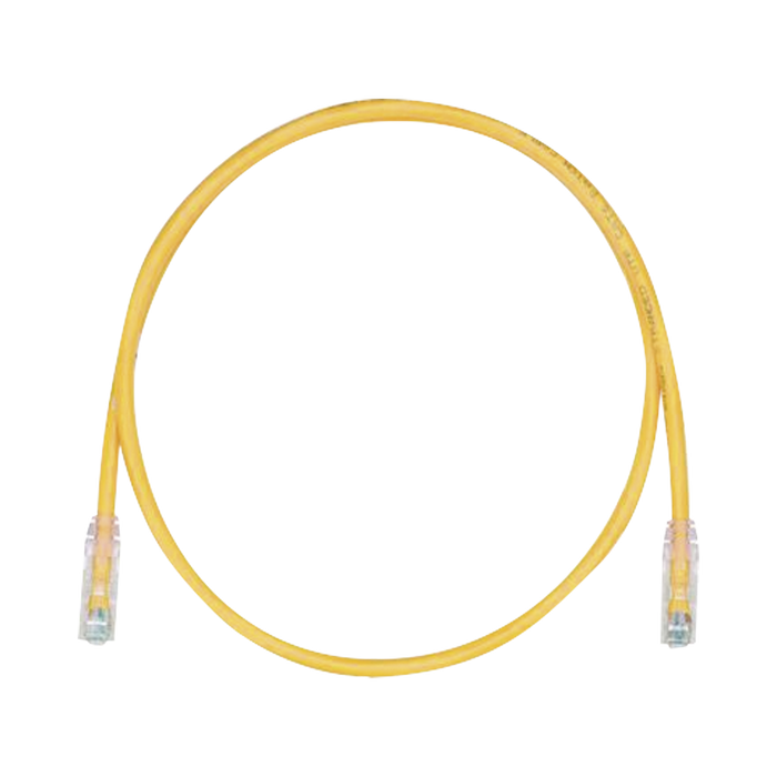 CABLE DE PARCHEO TX6, UTP CAT6, 24 AWG, CM/LSZH, COLOR AMARILLO, 10FT-Patch Cords-PANDUIT-UTPSP10YLY-Bsai Seguridad & Controles