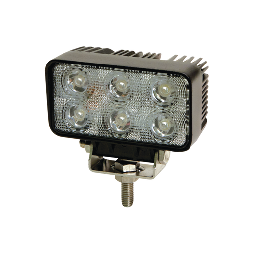 LUZ DE TRABAJO ULTRA BRILLANTE LED RECTANGULARES, IP67-Luces Perimetrales-ECCO-X2411-W-Bsai Seguridad & Controles