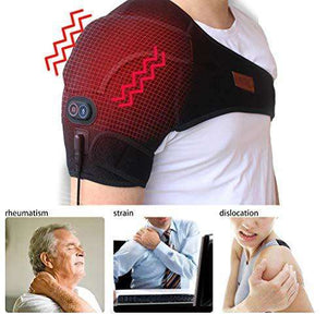 Heated Shoulder Wrap, Heating Pad