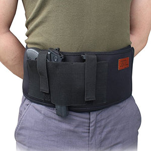 Neoprene Bundle of Belly Band Holster + Ankle Holster for Concealed Carry Pistol Holder for Men Women