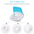 Portable Compressor Kit Parts Cool Mist Inhaler for Kids Adults Home Use with 1 Year Warranty