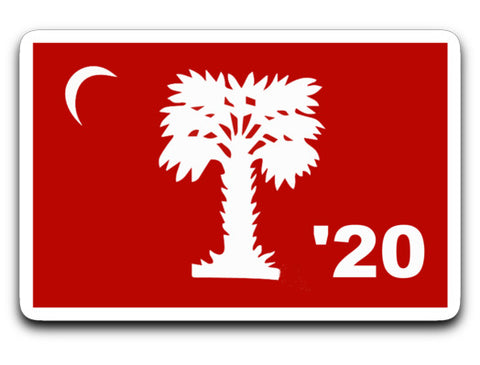 "Big Red Class of 2020 Sticker 4"" x 3"""