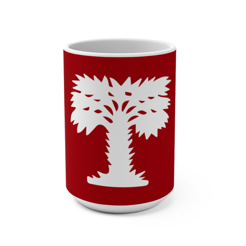 Big Red Wrap around Mug 15oz