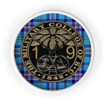 Class of 2019 Citadel Ring Bezel Tartan Wall clock