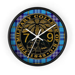 Citadel Class of 1979 Ring Bezel Tartan Wall Clock