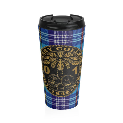 Class of 2001 Ring Bezel Stainless Steel Travel Mug