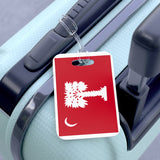 Big Red Flag Bag Tag