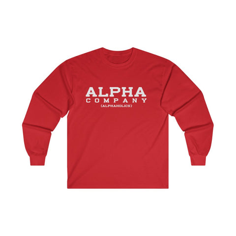 Alpha Company Ultra Cotton Long Sleeve Tee
