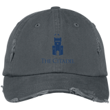 The Citadel Logo  Distressed Dad Cap