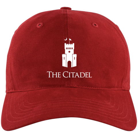 The Citadel Logo Unstructured Cresting Cap