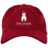 The Citadel Logo Brushed Twill Unstructured Dad Cap