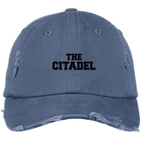 The Citadel  Distressed Dad Cap