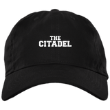 The Citadel  Twill Unstructured Dad Cap