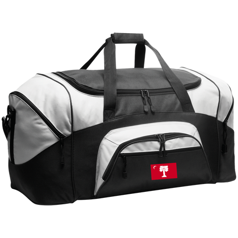 Big Red Colorblock Sport Duffel