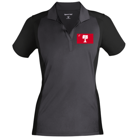 Big Red  Ladies' Colorblock Sport-Wick Polo