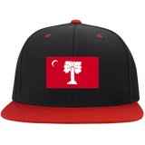 Big Red STC19 Flat Bill High-Profile Snapback Hat