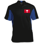 Big Red  Men's Colorblock Performance Polo