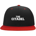 The Citadel  Flat Bill High-Profile Snapback Hat