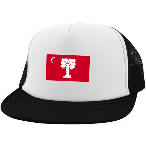Big Red  Trucker Hat with Snapback