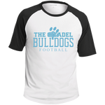 The Citadel Bulldogs Football Colorblock Raglan Jersey