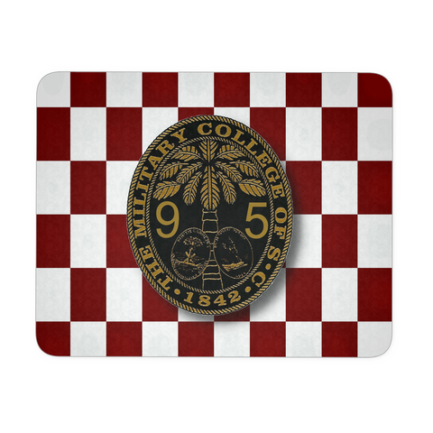 Class of 1995 Ring Bezel with Checkerboard Mousepad