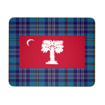 """Big Red"" with Tartan Mouse Pad"
