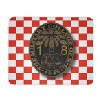Class of 2018 Ring Bezel with checkerboard Mouse Pad