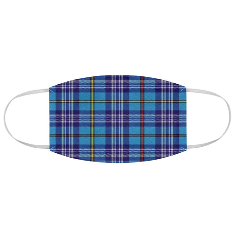The Citadel Tartan Fabric Face Mask
