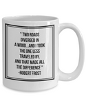 Two Roads Diverged Mug