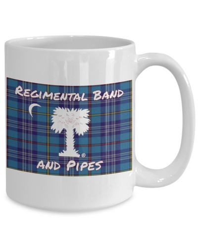 Regimental Band and Pipes Mug