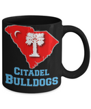 Big Red Bulldog Mug