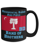 Regimental Band and Pipes Band of Brothers Mug