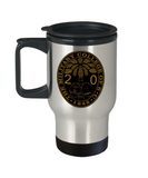 Class of 2020 Ring Bezel Travel Mug