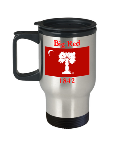 Big Red Travel Mug