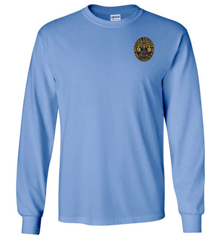 Class of 1999 Ring Bezel Front Long Sleeve Shirts