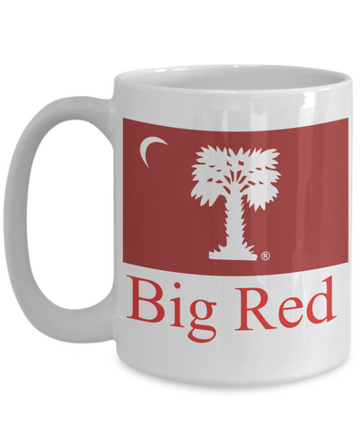 Big Red Mug 15 oz