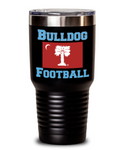 Big Red Bulldog Football Tumbler
