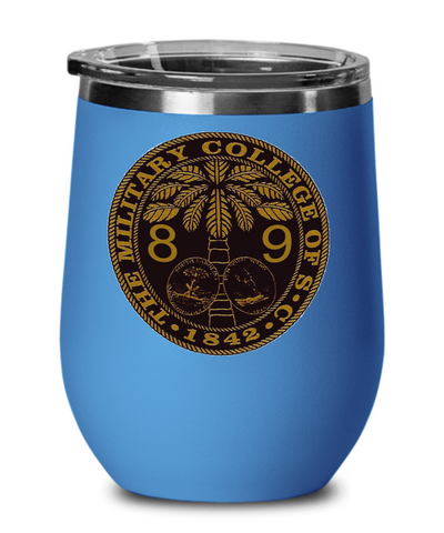 The Citadel Class of 1989 Wine Tumbler