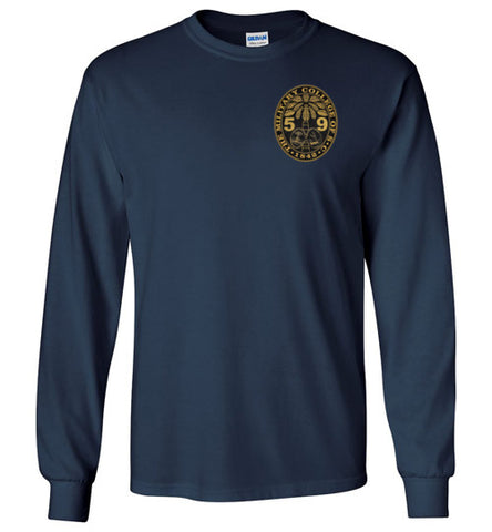 Class of 1959 Ring Bezel Long Sleeve Shirt